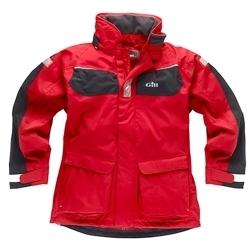 IN12J Coast Jacket (Red/Graphite, L)