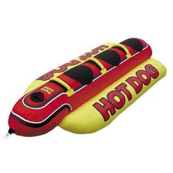 Hot Dog 3-Rider Boat Towable - Airhead