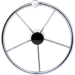 "Destroyer 15"" Steering Wheel, Stainless  …"
