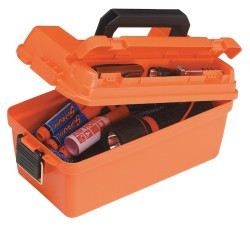 Shallow Dry Emergency Supply Box, Orange - Pl …