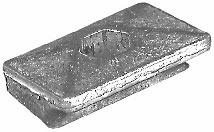 Genuine Evinrude / Johnson / OMC Pocket Zinc  …