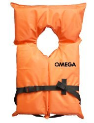 AK1 Life Vest - Orange; Universal Adult