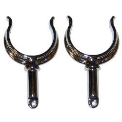Perko Ribbed Type Rowlock Horns - Chrome Plat …