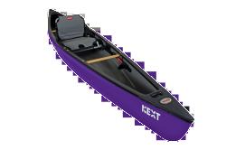 NEXT Solo Canoe and Kayak Hybrid, Purple - Ol …