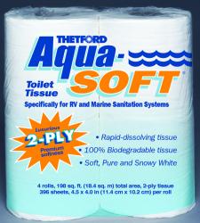 Aqua Soft Marine Toilet Tissue, 4PK - Thetfor …