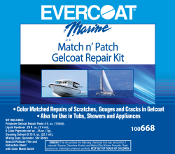 Match N Patch Gelcoat Repair Kit - Evercoat