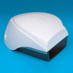 White Compact Electric MiniBlast Boat Horn -  …