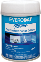 One Step Finish Gel Kote, Pt - Evercoat
