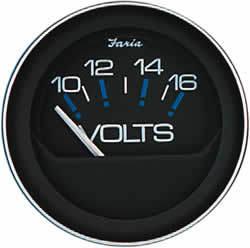 Coral Instruments Voltmeter, 10-16 Volt - Far …