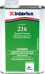 216 Special Boat Paint Thinner, QT - Interlux