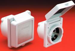 30Amp 125V Standard Inlet - Marinco