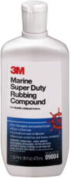 Marine Super Duty Rubbing Compound 16oz - 3M& …