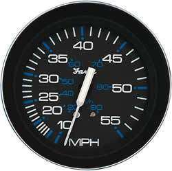 Coral Instruments Speedometer, 55 MPH, 4&quot …