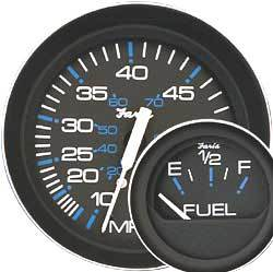 Coral Instruments Speedometer, 80 MPH, 4&quot …
