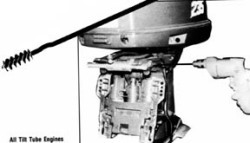 Boat Steering Tube Brush - T & R Marine