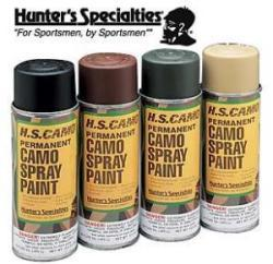 Spray Can Paint Flat Black, 16oz - Hunter&#39 …