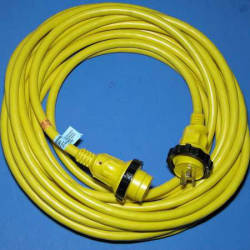 30A/125V 50' PowerCord Cordset with Power …