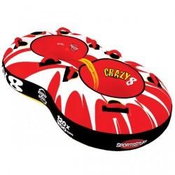 CRAZY-8 Boat Towable 2-Person - SportsStuff