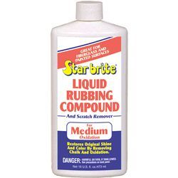 Liquid Rubbing Compound, 16oz - Star Brite