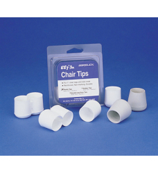 Deck Chair White Poly Replacement Tips, 4 Pac …