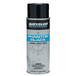 Phantom Black Spray Paint - Mercury