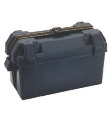 Large Battery Box, Black - Attwood