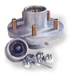 Super Lube Replacement Hub Kit Assembly, 4-Bo …