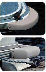 Pontoon 90° Corner Boat Fender - Tay …