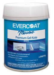Gel-Kote, White, Pint - Evercoat