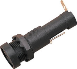 Round Fuse Holder with Flush Cap SeaDog Line