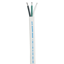16/3 Flat Triplex Cable Wire, Black/Green/Whi …