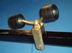 Dual Wobble Boat Roller Assembly - Ve-Ve