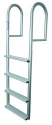 4 Wide Step Stationary Ladder, Aluminum - Jif …