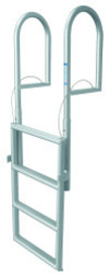 4 Step Retractable Dock Lift Ladder, Aluminum …