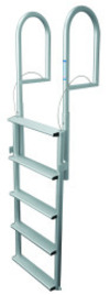 5 Wide Step Retractable Dock Lift Ladder, Alu …