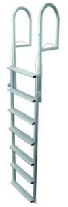 7 Wide Step Retractable Dock Lift Ladder, Alu …