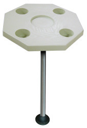 Octagonal Ivory Table Kit w/ Surface Mount -  …