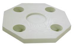 Octagonal Ivory Table Top - Jif Marine