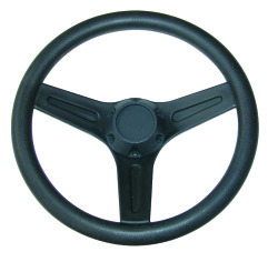 Boat Steering Wheel, Black, Plastic - Jif Mar …