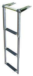 3 Step Over Platform Telescoping Boat Ladder, …