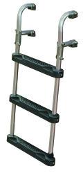 "Transom Ladder, 3-Step, 25"" - Jif Marine …"