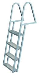 4 Step Dock Ladder, Galvanized - Jif Marine