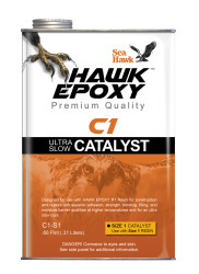 Ultra Slow Catalyst Size 1, .66 PT - Hawk Epo …