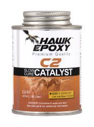 Slow Cure Catalyst Size 1, .4 PT - Hawk Epoxy
