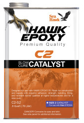 Slow Cure Catalyst Size 2, .8 QT - Hawk Epoxy