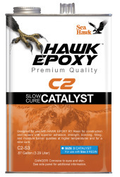 Slow Cure Catalyst Size 3, .87 GL - Hawk Epox …