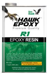 1 QT Size 1 Hawk Epoxy R1 Resin
