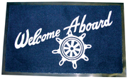 Seachoice, Welcome Aboard Mat, Navy, Boat Cab …