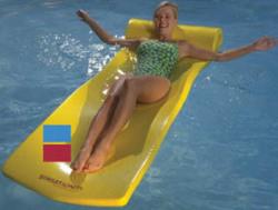 Sunsation Pool Float, Blue - Texas Recreation