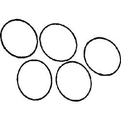 "O-Rings For Deck Plates, 8""  - Beckson"